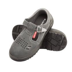 Sandały zamszowe robocze S1 SRC męskie podnosek stalowy Lahti Pro
