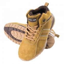 Buty zamszowe miodowo-brązowe SB SRA Lahti Pro