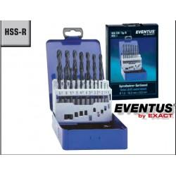 ZESTAW WIERTEŁ DIN338 HSS-R 1,0-10,0mm 19-CZĘŚCI EVENTUS