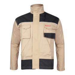 Bluza robocza ochronna męska 100% bawełna beżowa