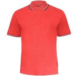 Koszulka polo męska CZERWONA