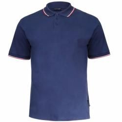 Koszulka polo męska GRANATOWA 100% bawełna