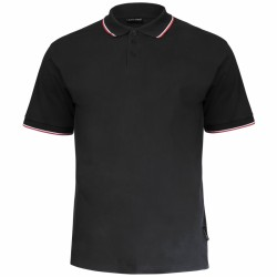 Koszulka polo męska CZARNA 100% bawełna