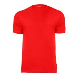 T-shirt koszulka CZERWONA 100% bawełna
